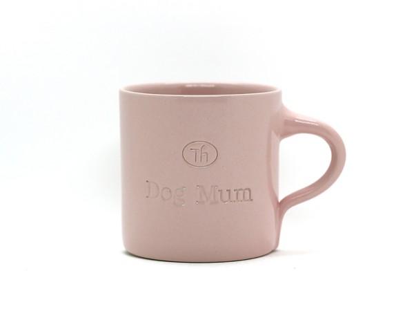 Tasse aus Keramik Dog Mum blush