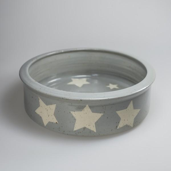 Hundenapf Keramik Stern mittel